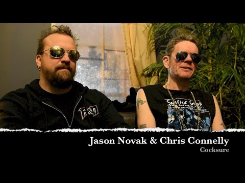 Cocksure (Chris Connelly & Jason Novak) Interview - Cobra Lounge Chicago