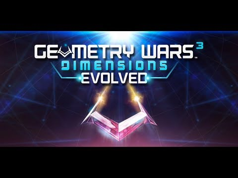Geometry Wars 3 Dimensions Evolved Game play |