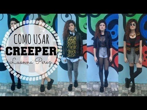 Como usar creeper - Inspirações Luanna Perez | PUBLICAMENTE