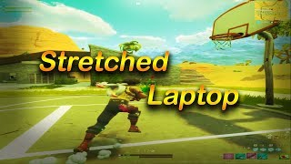 How To Get Stretched Resolution On A Laptop | Fortnite Laptop Stretched Resolution