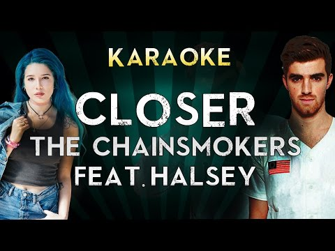 The Chainsmokers - Closer ft. Halsey | LOWER Key...