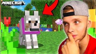 Przygarnąłem SAMOTNEGO PIESKA w Minecraft!