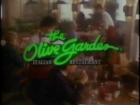 1988 Olive Garden Commercial Youtube