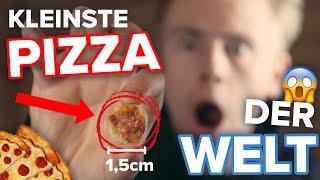 KLEINSTE PIZZA der WELT ! II RayFox