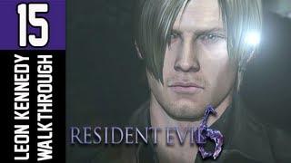 Resident Evil 6 Walkthrough - Part 15 [Chapter 3] Water Slide Let