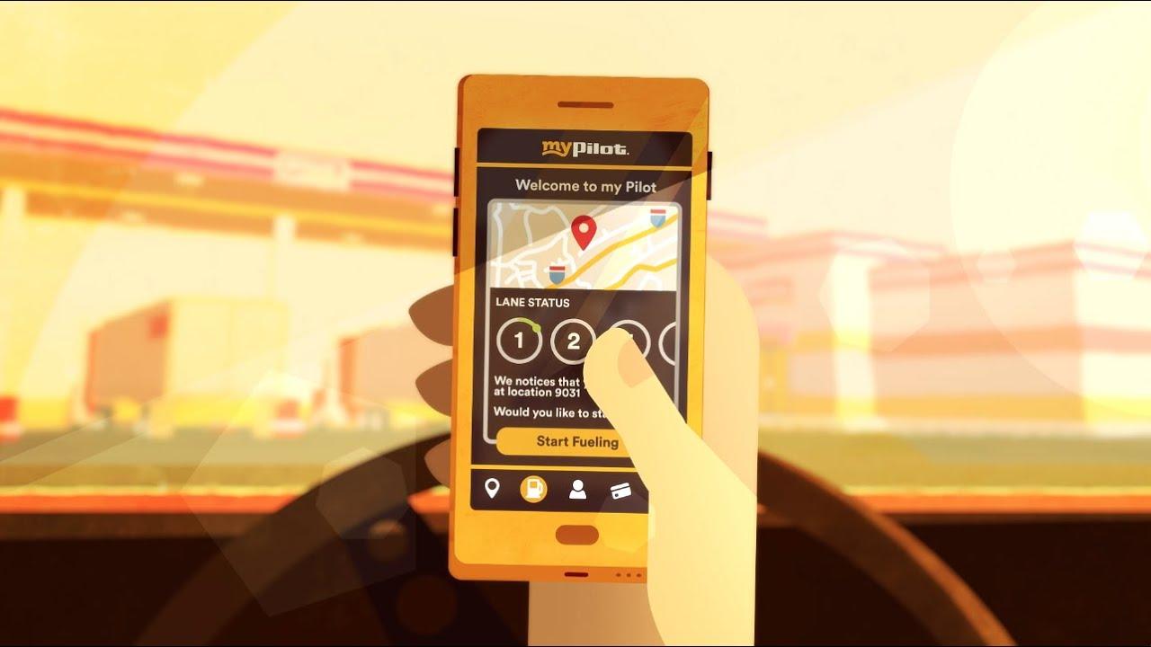 mypilot mobile app mobile fueling shower reservations fuel receipts in app - Pilot Fleet Card