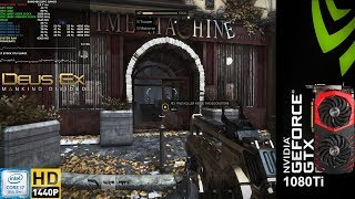 Deus Ex Mankind Divided Ultra Settings | GTX 1080 Ti | i7 8700K 5.2GHz