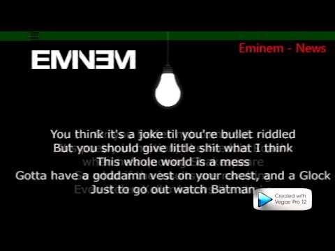 Eminem - Asshole Ft. Skylar Grey ( Lyrics ) MMLP2