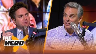 Chris Mannix on KD's potential return to Oklahoma City, LeBron takes over L.A. | NBA | THE HERD