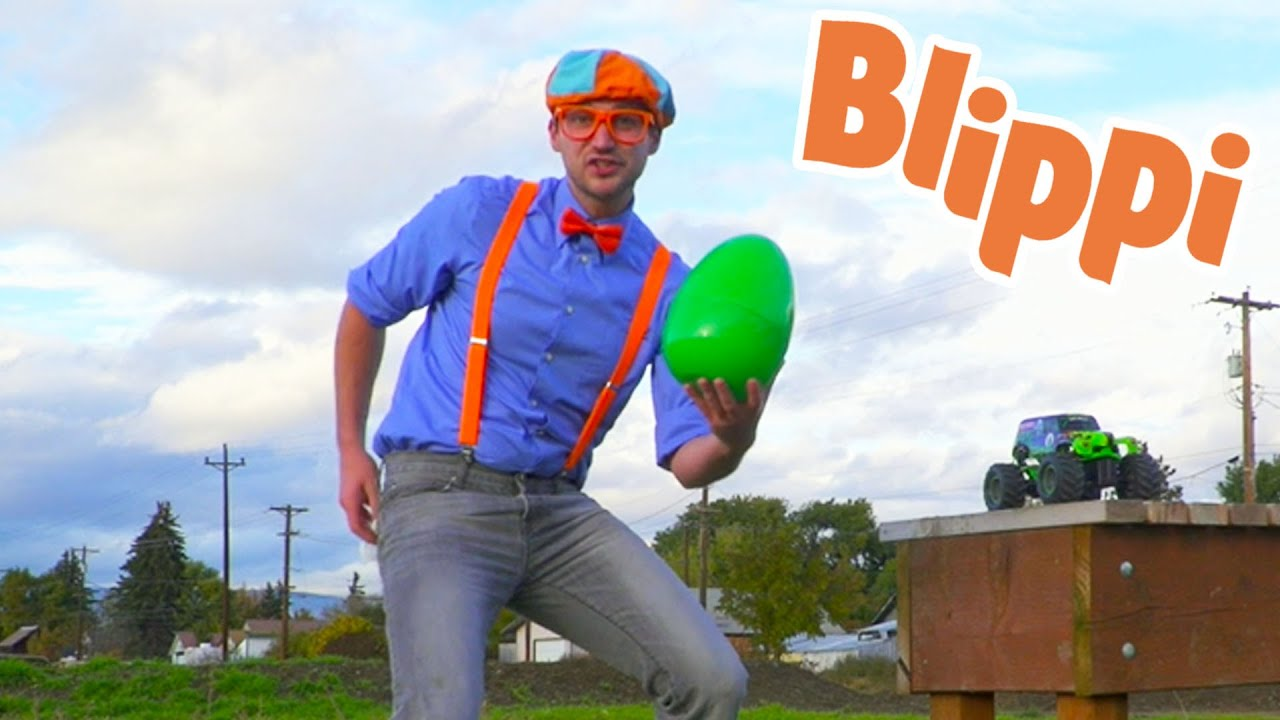 Blippi Learns Colors On A Egg Hunt | Educational Videos For Kids