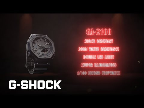GA-2100 Series: CASIO G-SHOCK