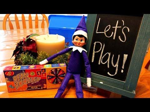 Purple Elf On The Shelf - Elf Bean Boozled - Day 16