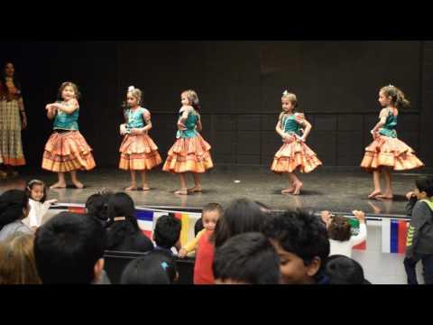 South Indian folk dance -Teasley Elementary school