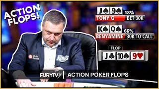 Four of the most INSANE poker FLOPS ever seen!