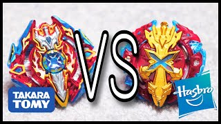 Sieg Xcalibur VS Xcalius X2 |Beyblade Burst Battle|