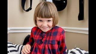 5 jähriges Kind aus den USA spricht Deutsch - 5-year old American girl speaks German