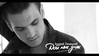 Андрей Леницкий - Дай мне знак (lyric video)