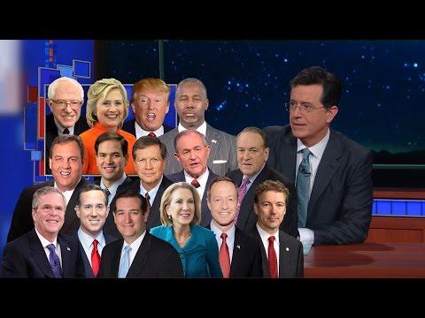 Watch Stephen Colbert Savor Donald Trump's Iowa Caucus Defeat