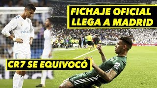 ronaldo reacciona muy mal al gol del betis   oficial ltimo fichaje a madrid