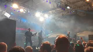 "MESHUGGAH ""Future Breed Machine"" Live at 70,000 Tons Of Metal | Metal Injection"