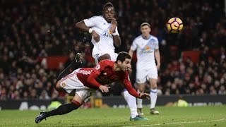 Manchester United Vs Sunderland - All Goals (3-1) -Mkhitaryan Stunning Goal