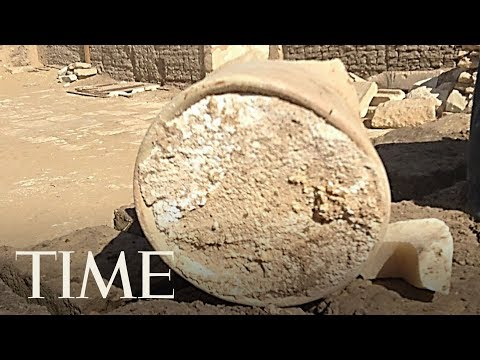 Archaeologists Have Discovered The World's Oldest Cheese Inside An Ancient Egyptian Tomb | TIME