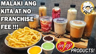 ANG DIY MILK TEA AT FRENCH FRIES NEGOSYO NA PWEDE MONG IKAYAMAN!!! (FT.  inJOY PRODUCTS!)