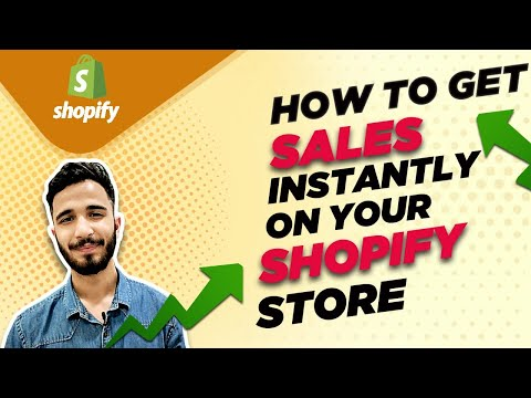 How to Get Sales Instantly on Your Shopify Dropshipping  Store? | Shopify Dropshipping From India