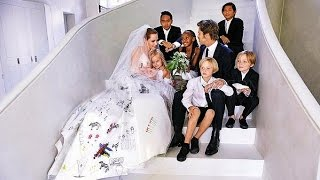 Brad Pitt and Angelina Jolie's Children And Their Beautiful Moments