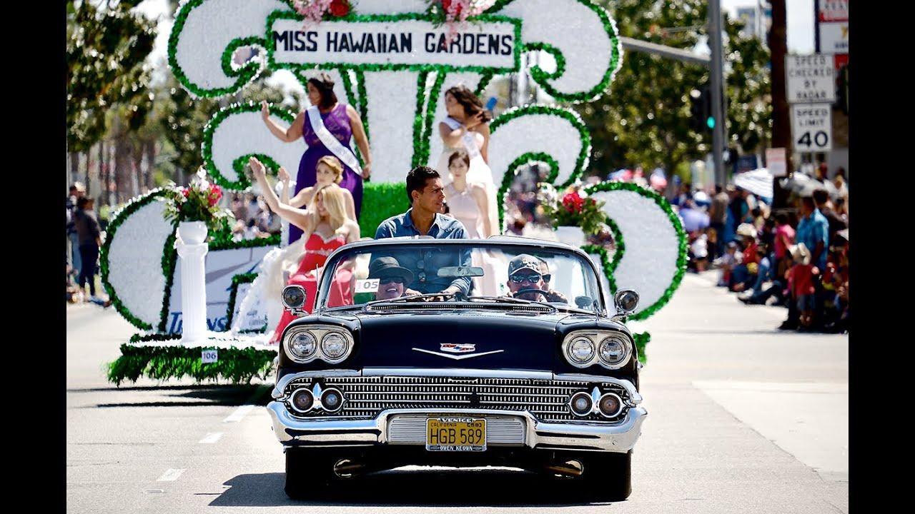 51st Anniversary Parade 2015 By Hawaiian Gardens