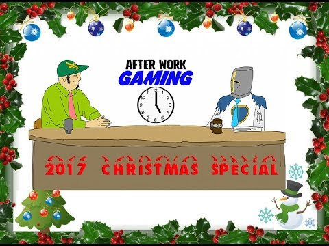 After Work Gaming Christmas Special 2017! Holiday Memories + Gift Exchange