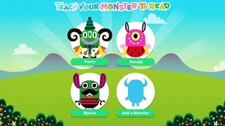 Learn Phonics and Reading Game Teach Your Monster to Read by Teach Monster Games Part 2