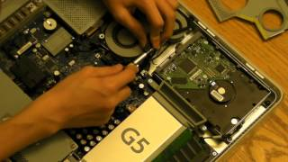 How to: iMac G5 Hard Drive Replacement