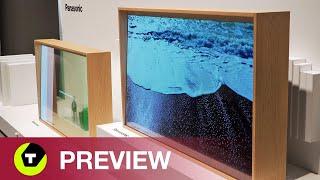 Panasonic's toekomstvisie op de IFA - Doorzichtige oled's en de beste lcdtv ooit