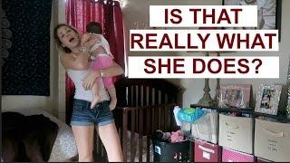 BABY SHOCKS US AT WHAT SHE REALLY DOES AT NAP TIME   VLOGMAS