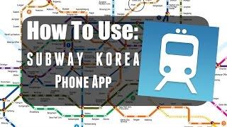 How to Use Korea Subway Phone App screenshot 3