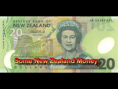 LEARN AND SEE SOME NEW ZEALAND MONEY
