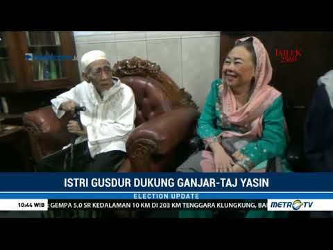 Istri Gus Dur Dukung Ganjar - Taj Yasin