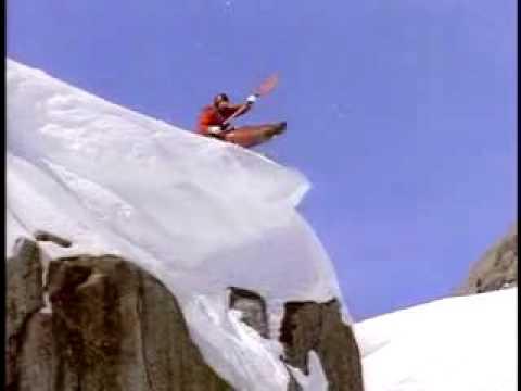 Extrem Kayaking on Snow !
