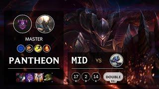 Pantheon Mid vs Fizz - EUW Master Patch 10.21