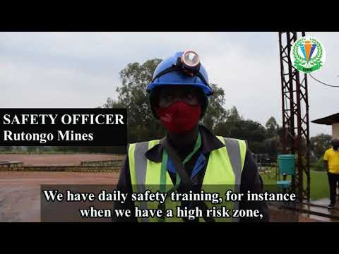 REWU as a voice of Mining and Quarrying Workers in Rwanda