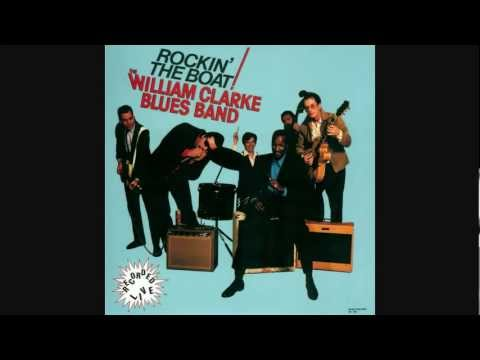 THE WILLIAM CLARKE BLUES BAND ~ deal the cards ~ recorded live 1987.