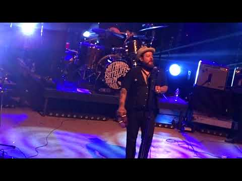 """""""Out On The Weekend"""" Nathaniel Rateliff & The Night Sweats at The Ogden Theater Denver CO 12-16-2017"""