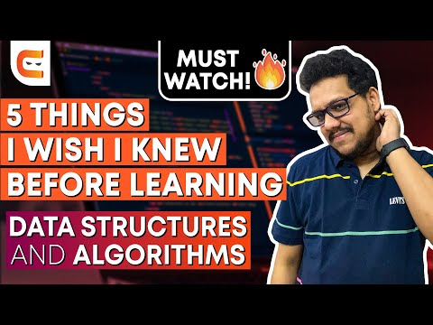 5 Things I wish I knew Before Learning Data Structures and Algorithms   DSA for Beginners