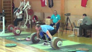 Russian weightlifters - Training