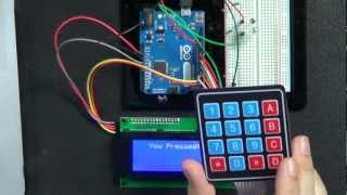 keypad input to an arduino let s make it episode 11