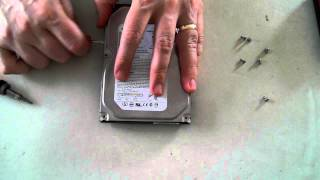 Opening a Seagate Barracuda Hard Drive
