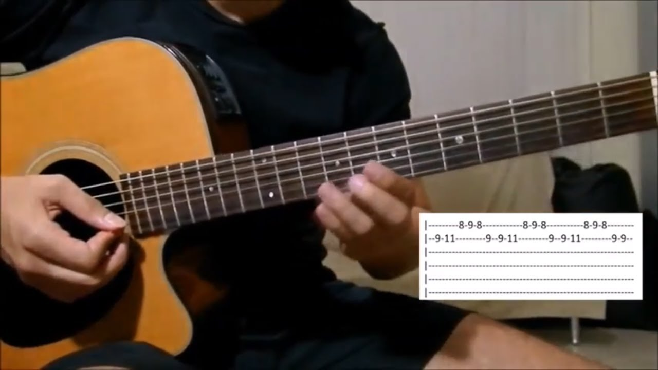 The Cure Lady Gaga Aula Violo Guitar Lesson Tutorial How To
