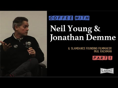 Coffee with Neil Young and Jonathan Demme (1 of 4)