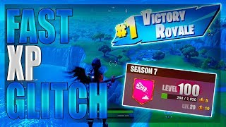 Fortnite Glitches - *EASY* Unlimited XP Glitch in Fortnite - Level 100 Instant Glitch in Season 7!!